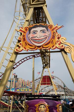 coney: The amusement park of Coney Island, NYC