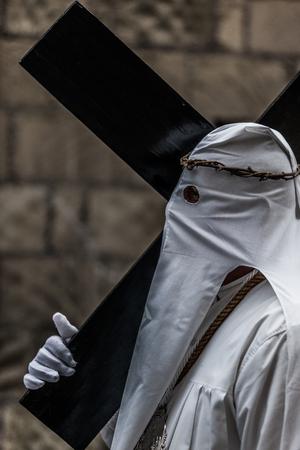 procession: Masked Easter procession,Procida, Campania, Italy