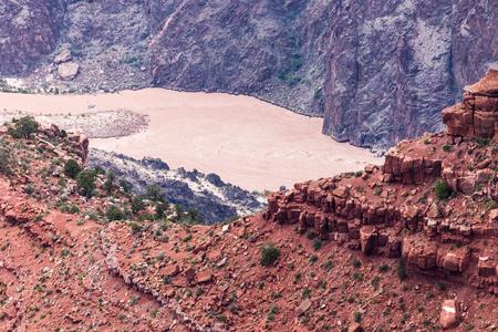 colorado river: Colorado river in Grand Canyon, AZ Stock Photo