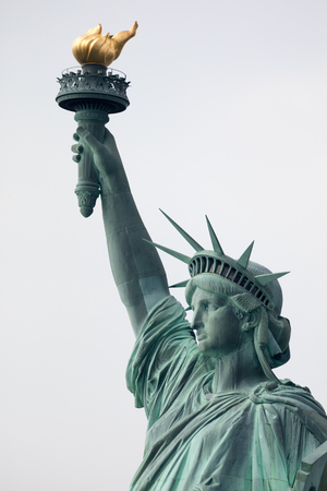 liberty statue: The Statue of Liberty is a colossal neoclassical sculpture on Liberty Island  in New York City
