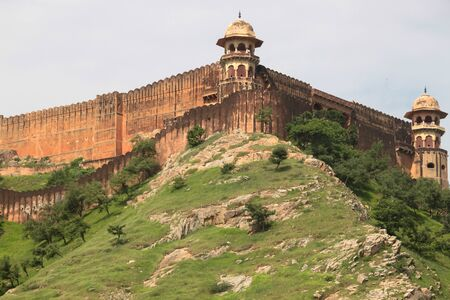 amber fort: amber fort, near Jaipur in Rajasthan, India