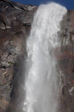 yosemite national park: Water falls in Yosemite National park, california, USA