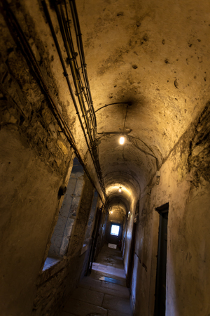 kilmainham: kilmainham gaol, historic old prison in Dublin