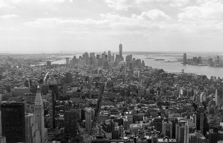New York panorama from Empire State Building