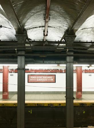 uptown: New York Subway, stop in Brooklyn