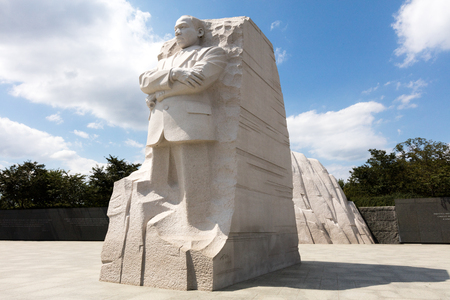 martin luther king: The Martin Luther king memorial in Washington DC