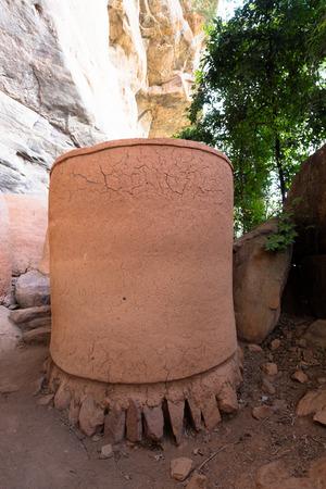 troglodyte: Troglodyte village of Niansogoni (Wara), Burkina Faso