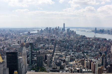 empire state building: New York panorama from Empire State Building