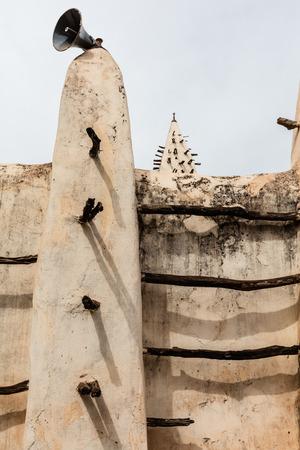 burkina faso: The grand Mosque in  Bobo-Dioulasso Burkina Faso