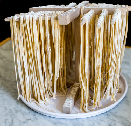talian: Tagliatelle homemade with flour and water