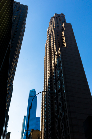 financial district: New York,  Lower Manhattan ,  Financial district view