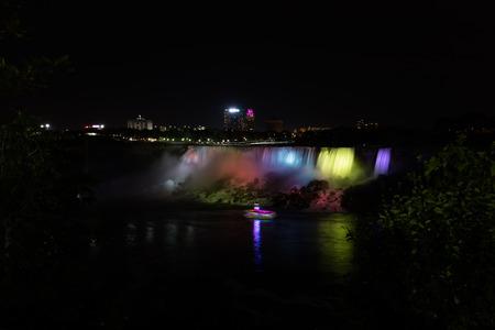 niagara falls: Niagara falls, view from Canadian side, Canada Stock Photo