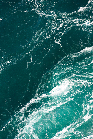 maelstrom: Maelstrom, natural phenomenon of whirlpool, called saltstraumen, Norway Stock Photo