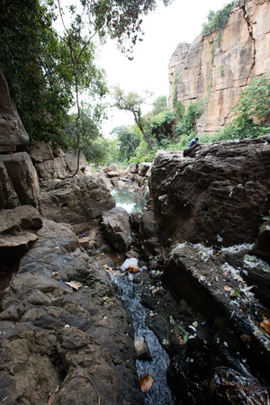 sacrificio: El sitio animista sagrado de sacrificio en Burkina Faso