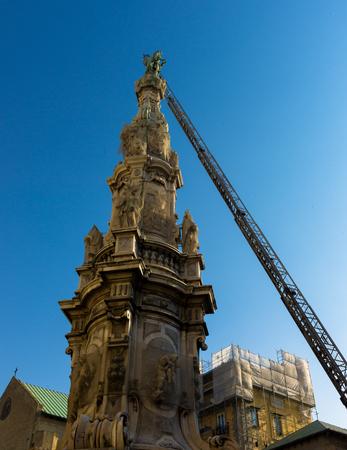 heros: Christmas, Obelisk in Piazza del Ges�, Naples