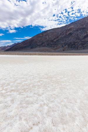 death valley: Salted lake in the Death Valley, California, USA