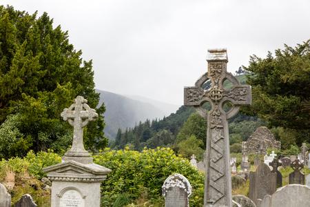 monastic: Glendalough is one of the most important monastic sites in Ireland