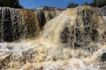 Karfiguela  falls in  Banfora, Cascades region , Burkina Faso Stock Photo