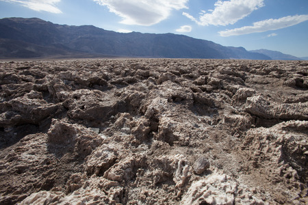 Death Valley in California, the most arid place in USA