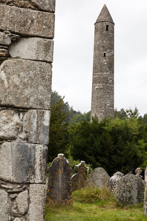 monastic: Glendalough is one of the most important monastic sites in Ireland