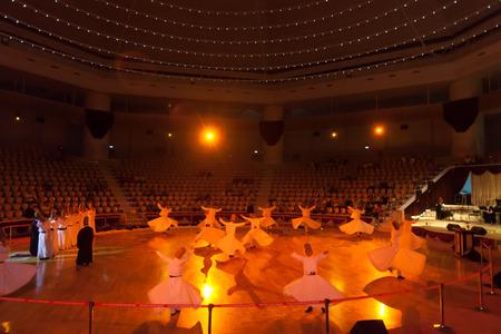 18.08-2013, Konya,Turkye. Dancing dervishes