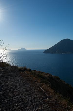 panarea: Seaview of aeolian islands from Lipari.