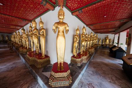 art processing: December 4, 2016 Bangkok , Thailamd. Wat Pho