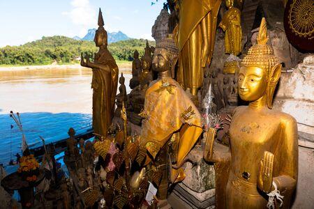 November, 11,2016, Laos. Pak ou caves , near Luang Prabang