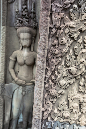angkor thom, the best archeological site, Cambodia