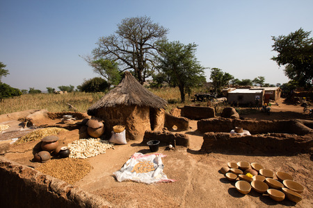 Tools utilized by gold digger, Burkina faso