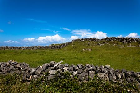 Landscape of Inish more the main Aran island