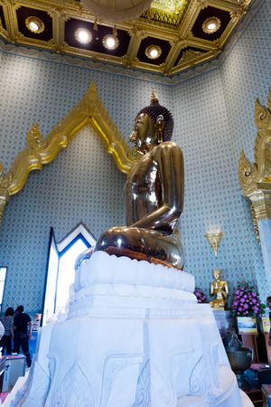 Wat Traimiit, temple of Golden Buddha in Bangkok, Thailand