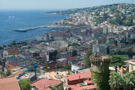 Naples, panorama from Vomero quarter