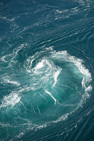 Maelstrom, natural phenomenon of whirlpool, called saltstraumen, Norway Stock fotó