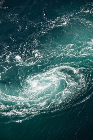 Maelstrom, natural phenomenon of whirlpool, called saltstraumen, Norway