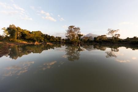 Tad Lo waterfall, Bolaven Plateau, Champasak Province, Laos Imagens