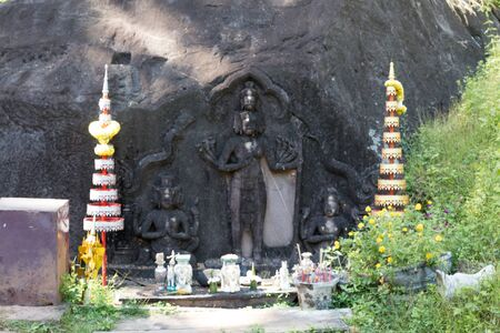 Devember 2 2016, Champasak,Laos. Wat Phou khmer site