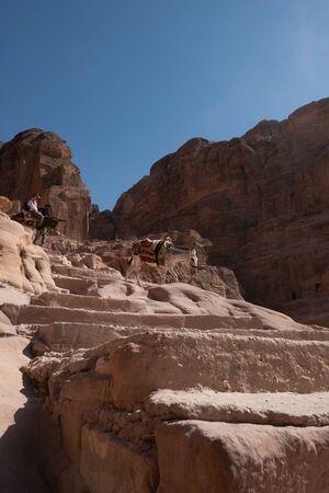 Ruins  Petra, 's  , Jordan Stock fotó