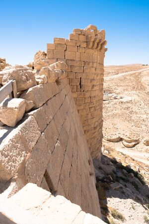 medieval crusaders castle, Shobak, Jordan, Middle East