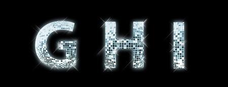 disco parties: G, H, I - fuente de una bola de disco