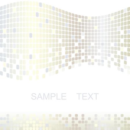 Mosaic color illustration vector design Illustration
