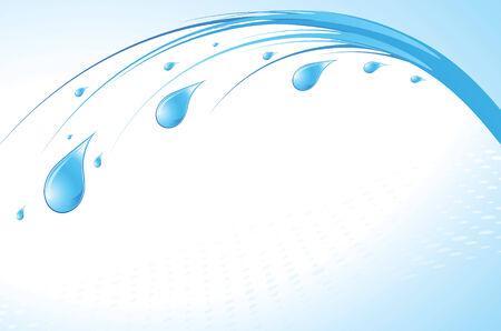 kropla deszczu: Krople wody - abstrakcyjna tła z miejsca dla tekstu