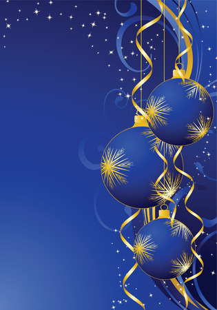 Background for new year and for Christmas Vector