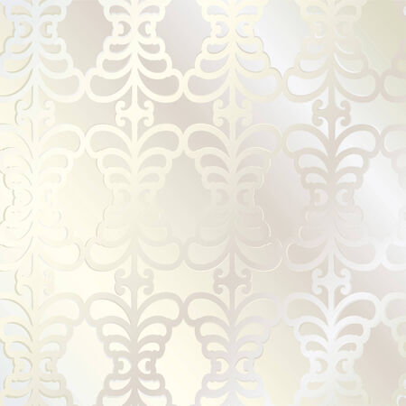 Vector. Seamless leaf pattern. Light brown colors Vector