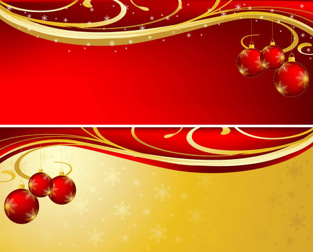Background for new year and for Christmas Stock Vector - 5856074
