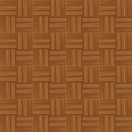 Wooden parquet flooring surface pattern texture seamless background Vector
