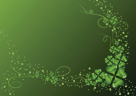 The vector illustration contains the image of St. Patricks background Vector