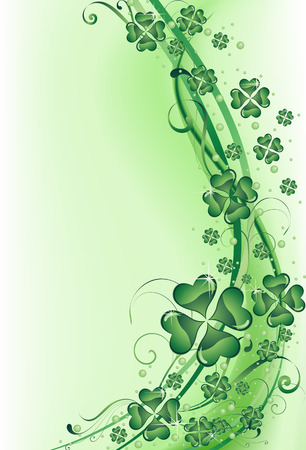 The vector illustration contains the image of St. Patrick's background Stock Vector - 6375172