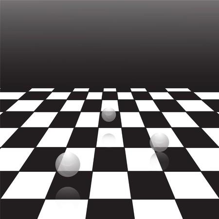 piso negro: Un dise�o de fondo del piso de gran corrector blanco y negro