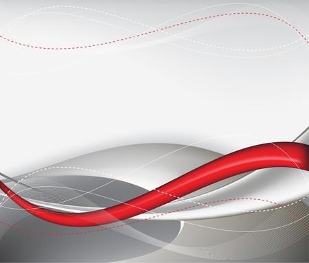 tech rouge arrière-plan abstract composition - illustration Vecteurs
